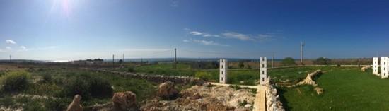 Marina di Pescoluse, terreno vista mare con concessione edilizia